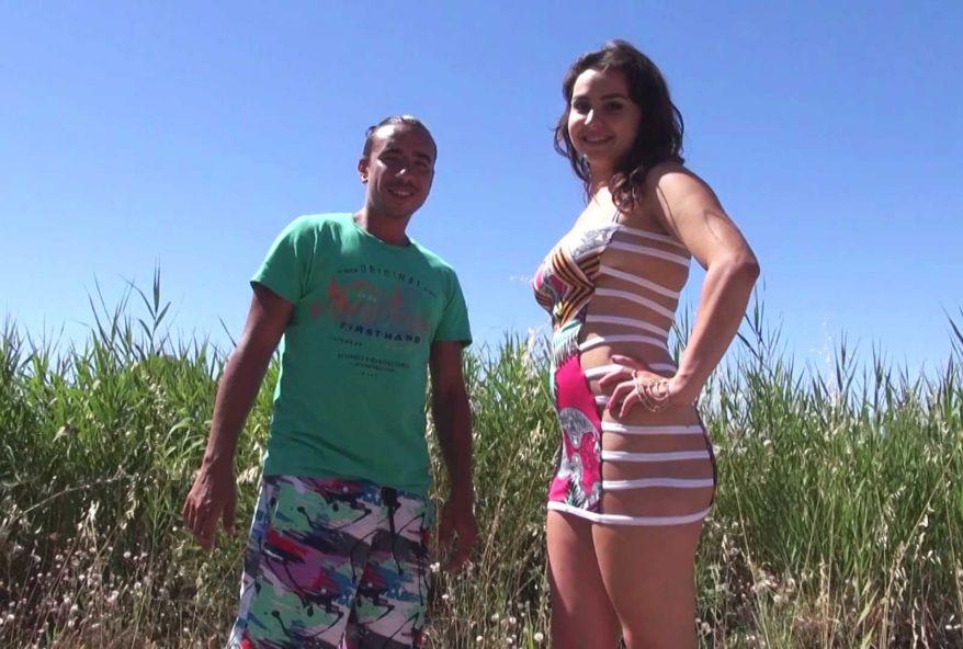 Karène, 18 ans, assistante vétérinaire venue passer un week-end avec des copines au Cap d'Adge ! (vidéo exclusive)