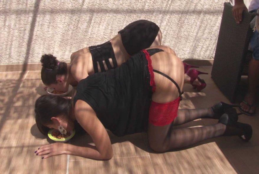 Sancho use et abuse de ces 2 nouvelles soumises, Lucia et Céline ! (vidéo exclusive)